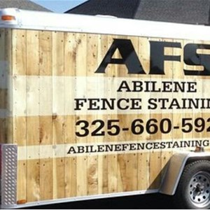 Abilene Fence Staining Logo