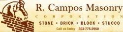 R. Campos Masonry Logo