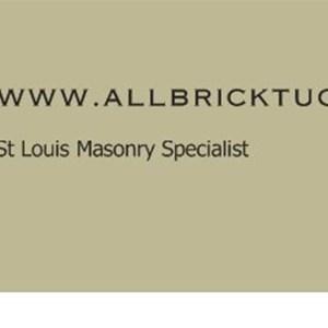 All-brick Tuckpointing Logo