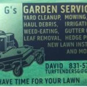 Gs Gardener Service Logo