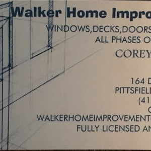 Walker Home Improvement Logo