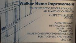 Walker Home Improvement Logo