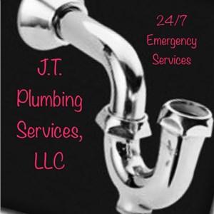 J.t. Plumbing Services Logo