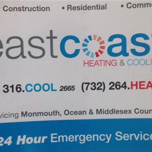 East Coast Heating & Cooling Cover Photo