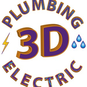 3 Plumbing & Electric Logo