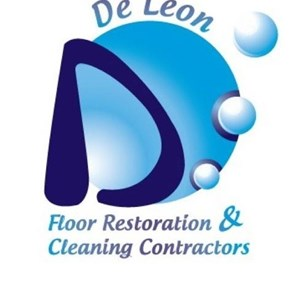 De Leon Floor Restoration& Cleaning Contractors Logo