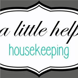A Little Help Housekeeping LLC Logo