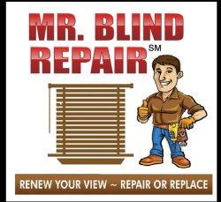 Mr. Blind Repair Logo