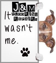 J & M Flooring LLC & Property Maintenance Logo