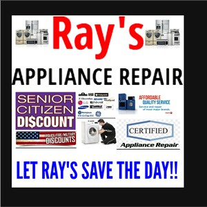 Rays Appliance Repair Logo