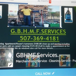 Gbhm Family Cleaning Services Logo