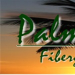 Palm Island Fiberglass Pools Logo