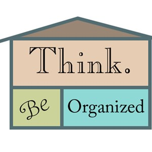 Think. Be Organized, LLC Logo