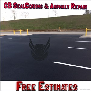 CB Sealcoating & Asphalt Repair Logo