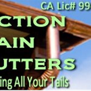 Action Rain Gutters Logo