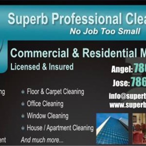 Superb Professional Cleaning, Inc Cover Photo