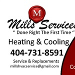Mills Services Heating & Cooling Logo