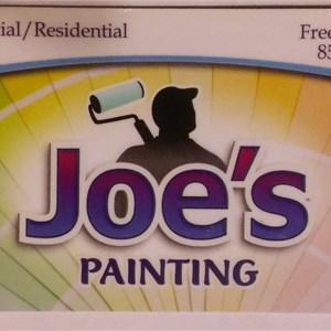 Joes Painting Logo