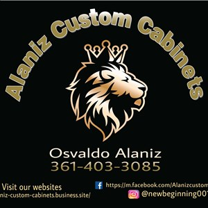 Alaniz Custom Cabinets Logo