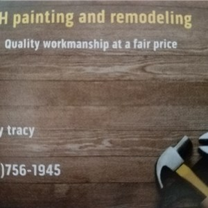 M & H Painting and Remodeling Logo