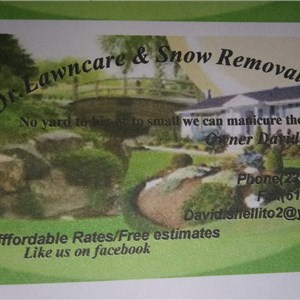Dr. Lawncare And Snow Removal Logo