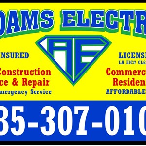 Adams Electric Cover Photo