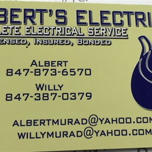 Alberts Electrical Logo