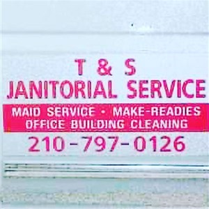 T&s Janitorial Services Logo
