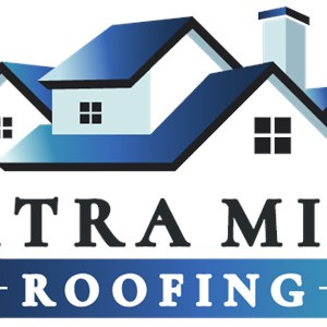 Extra Mile Roofing Logo