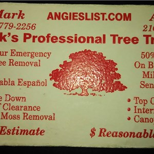Marks Professional Tree Trimming Logo