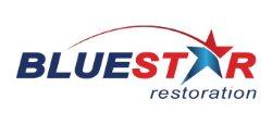 Blue Star Restoration Logo