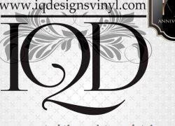 Iq Designs Vinyl Logo