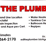 Ed The Plumber Cover Photo