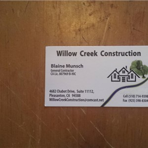 Willow Creek Construction Cover Photo