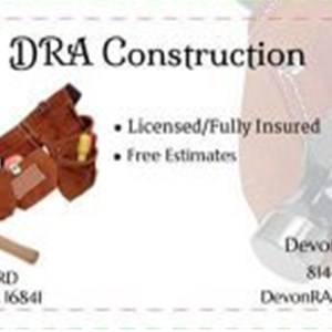 DRA Construction Logo