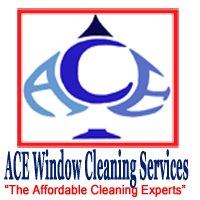 Ace Window and Carpet Cleaning Logo