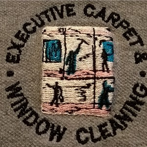 Executive carpet and window cleaning Logo