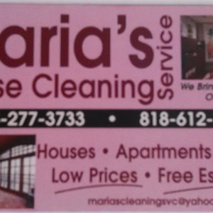 Marias Cleaning Service Cover Photo