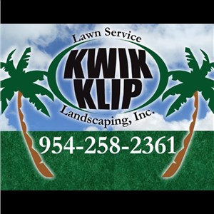 Kwik Klip Lawn Service and Landscaping inc Logo