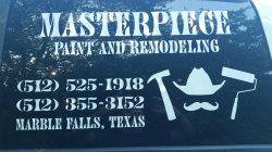 Masterpiece Paint & Remodeling Logo