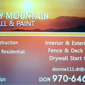 Sunny Mountain Drywall And Paint Logo