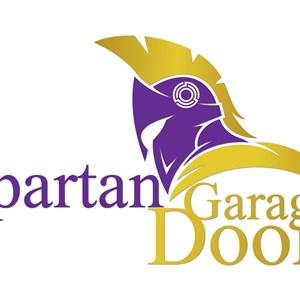 SPARTAN GARAGE DOORS Logo