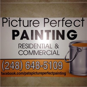 Picture Perfect Painting Logo