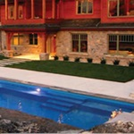 Pioneer Valley Fiberglass Pools and Spas Logo