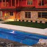 Pioneer Valley Fiberglass Pools and Spas Logo