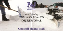 P & J Cleaning Service Llc Logo
