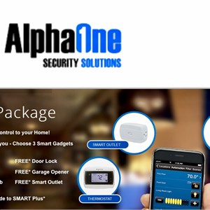 Alphaone Security Solutions Logo