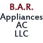 B.A.R APPLIANCES AC LLC.  Logo