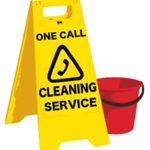 One Call Cleaning Service Logo