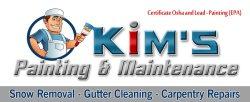 Kims Painting & Maintenance Inc. Logo